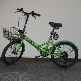 自転車レンタルサービス開始